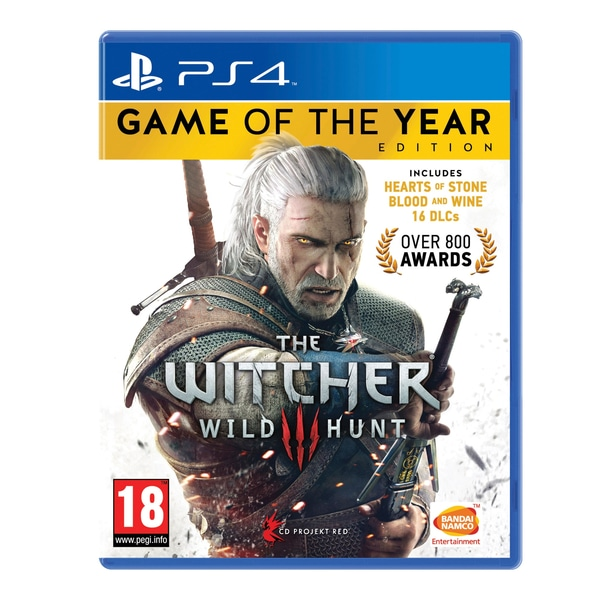 The Witcher 3- GOTY PS4
