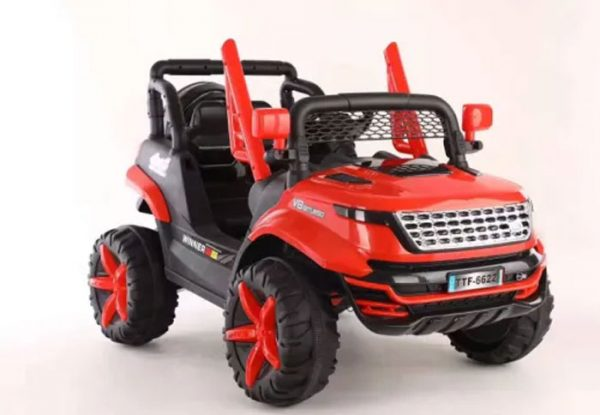 Electric-Rechargeable-Range-Rover-Toy-Car-for-Kids-With-Lights-and-Music-With-Remote-Control-TTF-6622-2